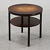 A swedish stained birch coffee table, 1930's.