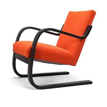 Alvar Aalto, A mid-20th century '34/402' armchair for  O.Y. Huonekalu- ja Rakennustyötehdas A.B. Finland.