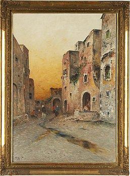 Wilhelm von Gegerfelt, oil on canvas, signed.