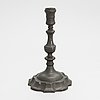 A 18th century candlestick.