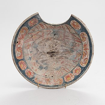 Probably 19th century barber dish.