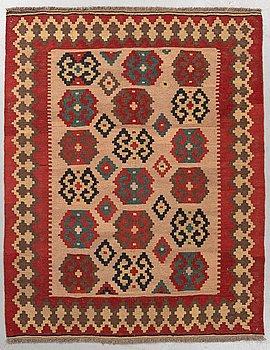 Matto, a kilim, probably Veramin, ca 153 x 121,5 cm.