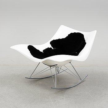 Thomas Pedersen, a 'Stingray' rocking chair for Frederica Furniture, designed 2002.