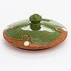 Alfred william finch, jar with lid, around year 1900 by iris finland.
