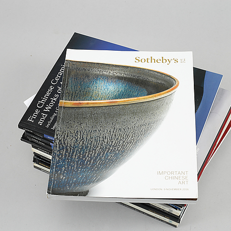 A group of 19 sotheby's auction catalogues, 1985-2016.
