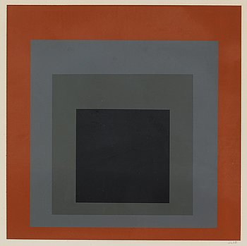 """87. Josef Albers, From: """"Hommage au Carré""""."""