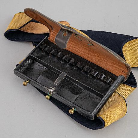 A swedish cavalry officer's cartridge box model 1895.