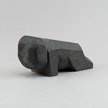 Bengt Malmquist, sculpture, diabas.