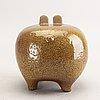 Lisa larson, a glazed earthenware figurine gustavsberg.
