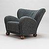 Märta blomstedt, an 'aulanko-model' armchair. designed in 1939.