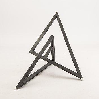 Bertil Herlow Svensson, a metal sculpture.