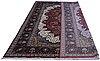 A carpet, oriental silk, ca 337 x 241 cm.