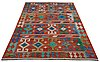 A carpet, kelim, ca 257 x 172 cm.