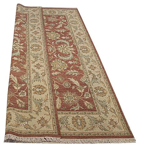 A rug, ushak design, ca 242 x 152 cm.