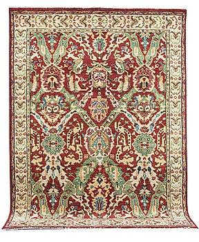 A carpet, Oriental, ca 319 x 241 cm.