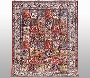 A carpet, Qum, ca 336 x 248 cm.