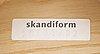 "Jonas lindvall, pallets, 2 pcs. ""oak"", skandiform, 2000s."