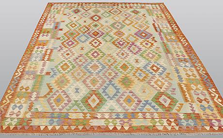A carpet, kilim, ca 293 x 206 cm.