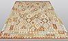 A carpet, kilim, ca 290 x 203 cm.