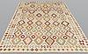 A rug, kilim, ca 302 x 204 cm.