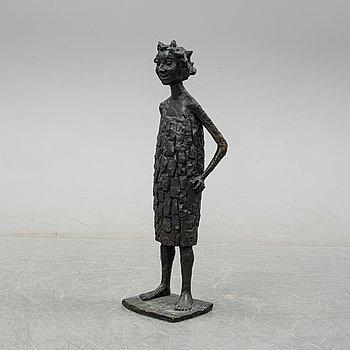 Allan Runefelt, a bronze sculpture, signed and dated -63.