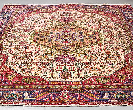 Carpet, tabriz, 364 x 273.