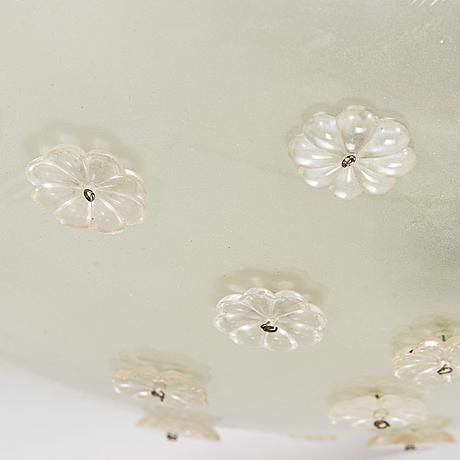 Lisa johansson-pape, a 1940's '1080' ceiling light for stockmann orno.