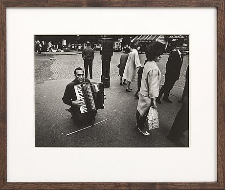 Jean hermanson, fotografi/silvergelatin, a tergo signerat.