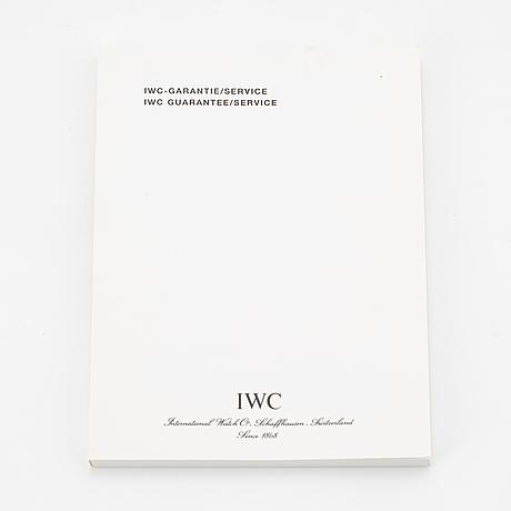 """Iwc, schaffhausen, gst chronograph, """"prada"""", wristwatch, 40 mm."""