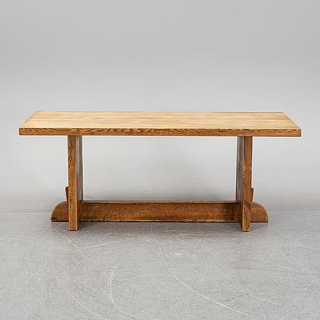 """Axel einar hjorth, """"lovö"""", bord, furu, nordiska kompaniet 1930-tal."""