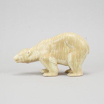 A stoneware figurine by Gunnar Nylund, Rörstrand.
