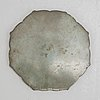 A chinese bronze mirror, ming style, 19th/20th century.