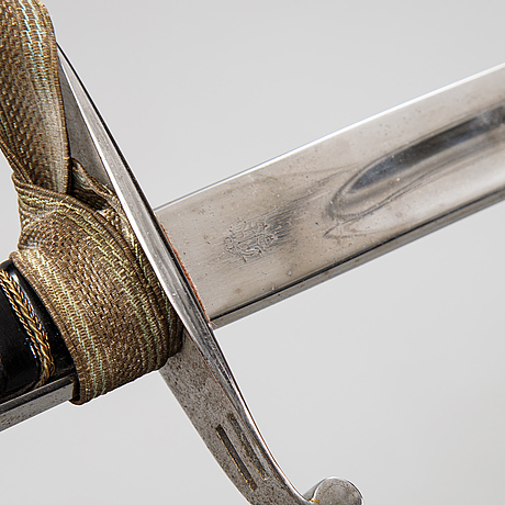 A bavarian sword from around the year 1900.