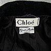 Chloé, kappa, omkring storlek xs.
