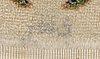 Matta täbris semiantik signerad bi nazir ca 155x100 cm.
