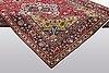 A carpet, tabriz, ca 343 x 254 cm.
