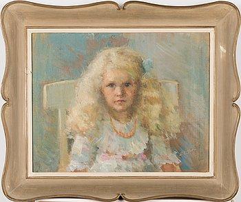 Berndt Lagerstam, oil on canvas, signed.