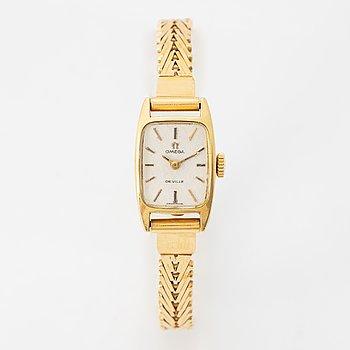 Omega, De Ville, wristwatch, 14,5 mm.