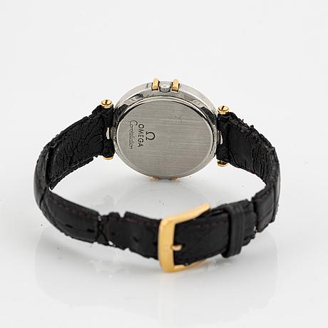 "Omega, constellation, ""uggla"", wristwatch, 33 mm."