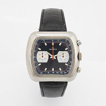 Helvetia, wristwatch, chronograph, 42 mm.