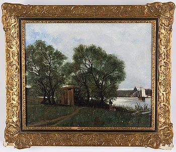 Swedish artist, 19th Century, oil on canvas.