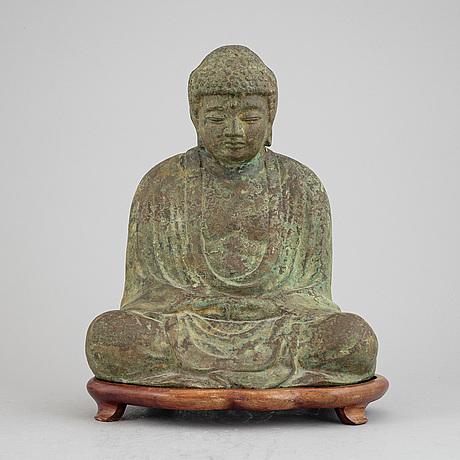 A chinese bronze sculpture, modern.