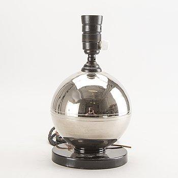 Bordslampa Funkis 1930/40-tal.