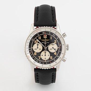 Breitling, Navitimer, 92, chronograph, wristwatch, 38 mm.