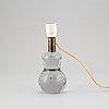 A model 1819/3 glass table lamp by josef frank for firma svensk tenn.
