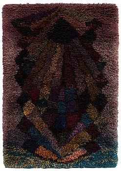 Uhra-Beata Simberg-Ehrström,  a rug/ ryarug for Friends of Finnish Handicraft. Circa 180x125 cm.