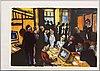 Peter dahl, färglitografi signerad och numrerad 135/500.