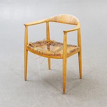 """Hans J Wegner, a """"The chair"""" for Johannes Hansen Denmark."""