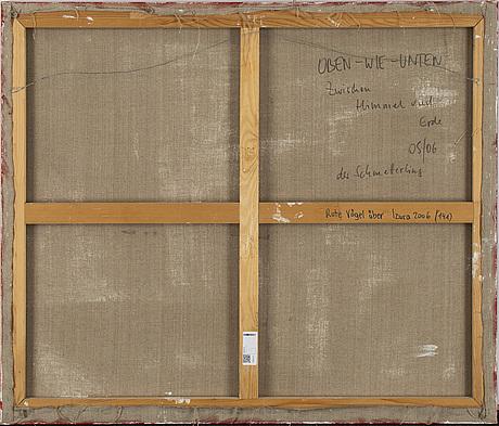 Roman scheidl, oil on canvas, signed.