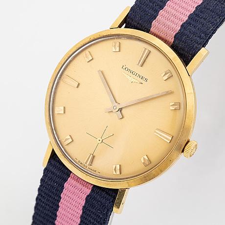 Longines, wristwatch, 34 mm.